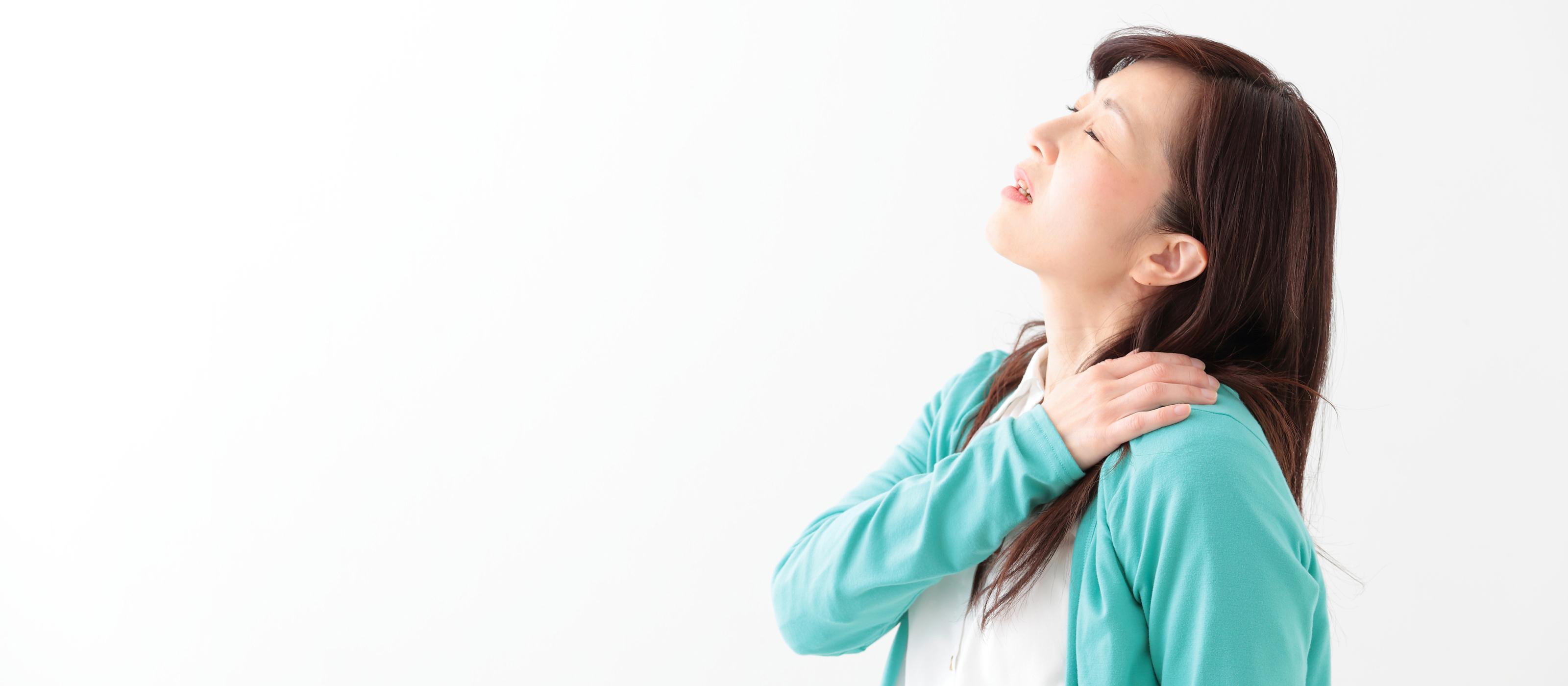 頭痛、四十肩(五十肩)、ぎっくり腰、<br>ひざの痛みで悩まれている方へ